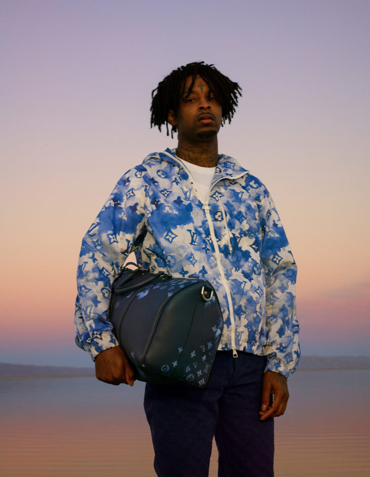LOUIS VUITTON 2021 SUMMER COLLECTION FEAT. 21 SAVAGE