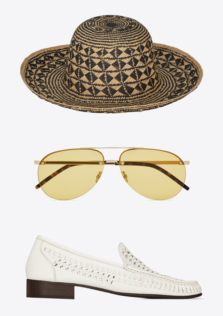 THE SELECTIONBY SWAG HOMMES SAINT LAURENT: SUMMER STUFF