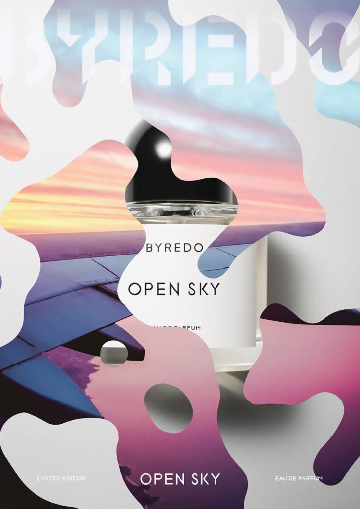 BYREDO NEW FRAGRANCE OPEN SKY