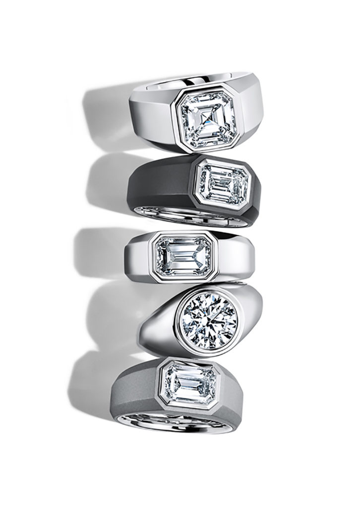 TIFFANY & CO. ENGAGEMENT RING FOR MEN