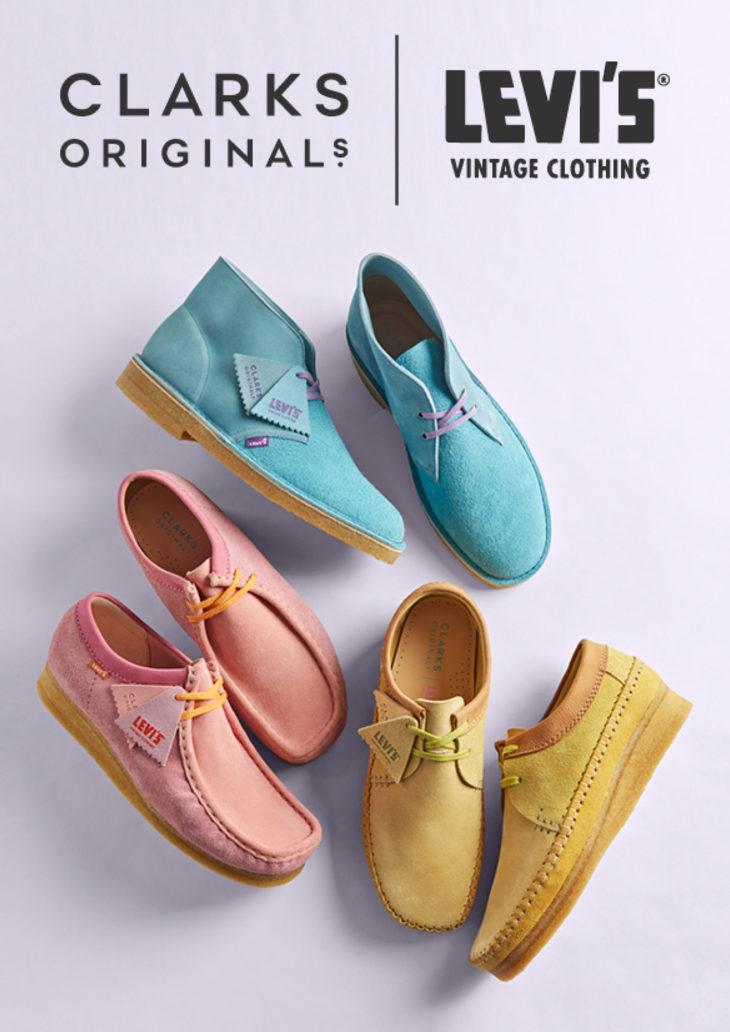 CLARKS ORIGINALS × LEVI'S VINTAGE CLOTHING CO