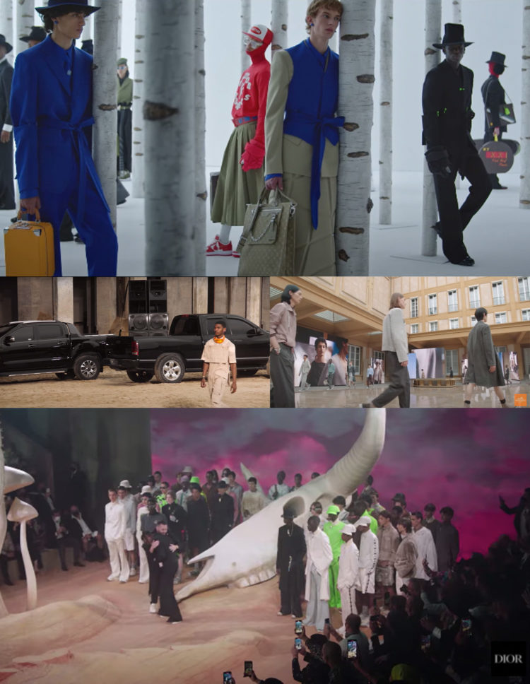 """PFW SS22 """"THE SHOW FILMS"""" PART1 SELECTED BY SWAG H."""