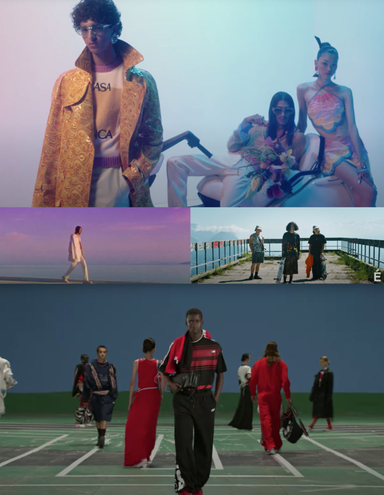 """PFW SS22 """"THE SHOW FILMS"""" PART2 SELECTED BY SWAG H."""