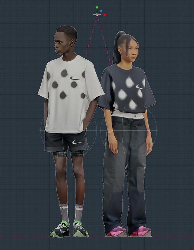 NIKE × 4 DESIGNERS 4 TOKYO 2020