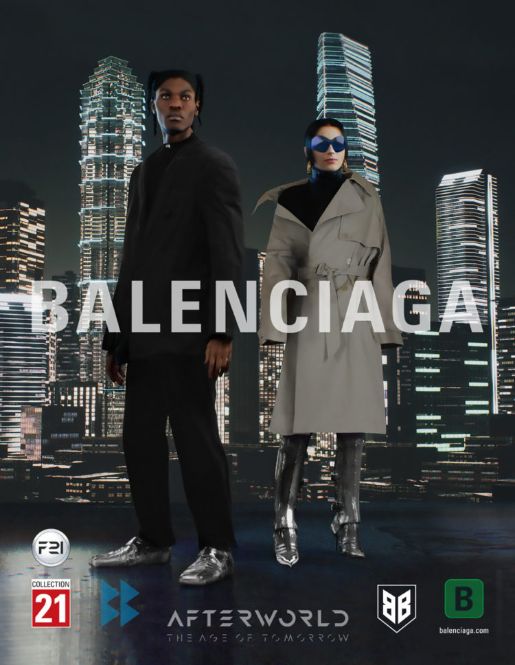 BALENCIAGA FALL 21 CAMPAIGN