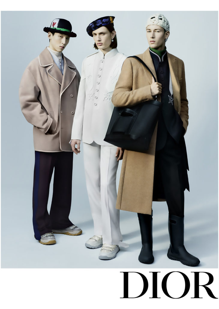 DIOR THE MEN<br /> WINTER 2021-22<br /> COLLECTION