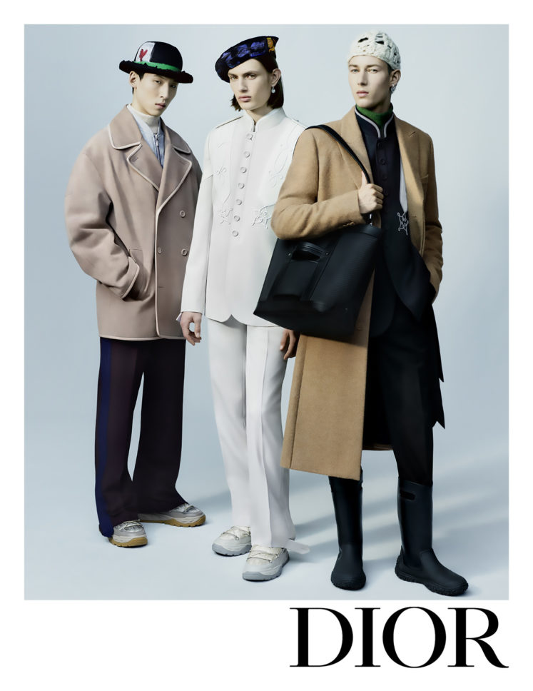 DIOR THE MEN WINTER 2021-22 COLLECTION
