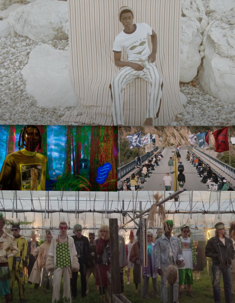 """PFW SS22 """"THE SHOW FILMS"""" PART3 SELECTED BY SWAG H."""