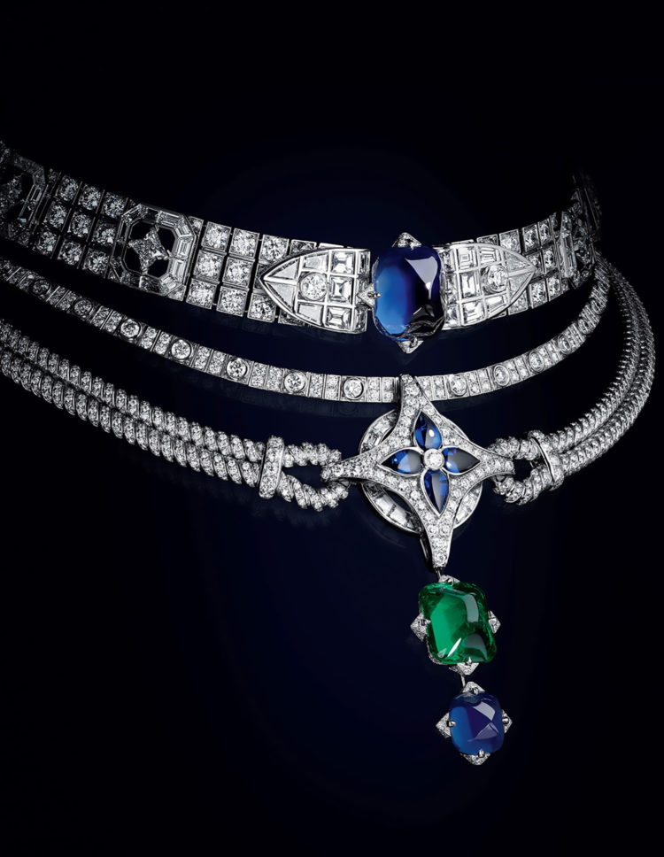 """LOUIS VUITTON HIGH JEWELLERY COLLECTION """"BRAVERY"""""""
